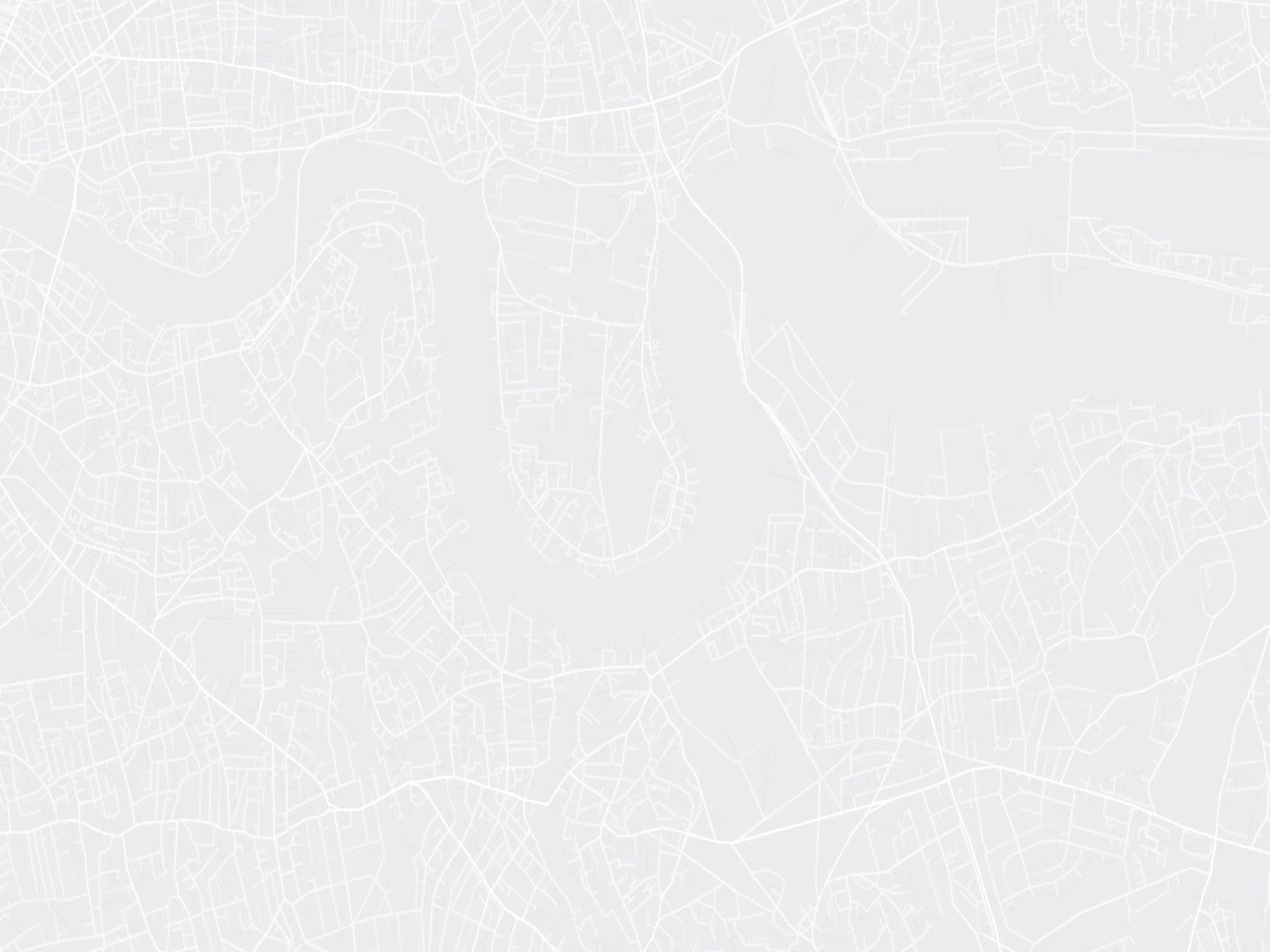 An abstract space syntax map of London